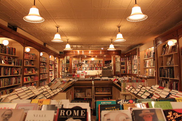Corner Bookstore Interior