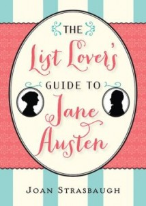 List Lover's Guide to Jane Austen